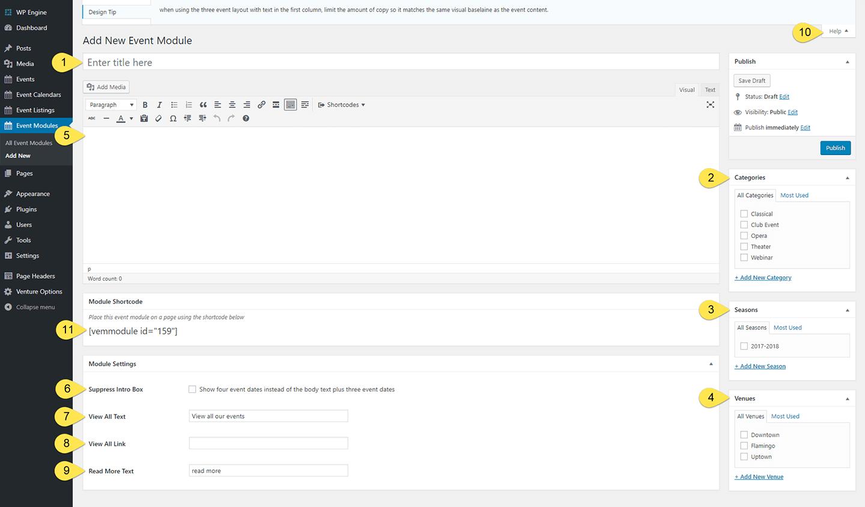 Modules Admin Panel